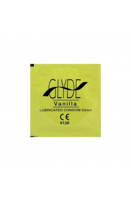 GLYDE, CONDOMS VANILLA, 10 pcs