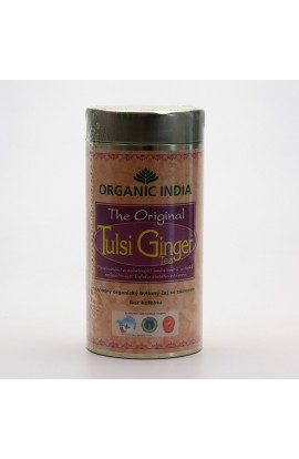 ORGANIC INDIA, TULSI CHAI GINGER, 100 G