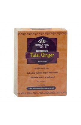ORGANIC INDIA, TULSI CHAI GINGER, 50 G