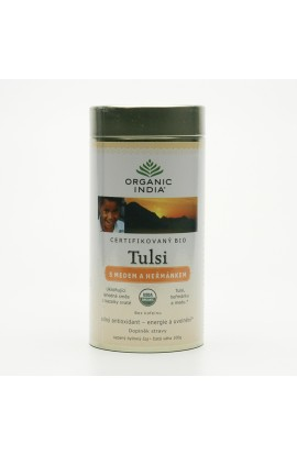 ORGANIC INDIA, TULSI CHAI HONEY CHAMOMILE, 100 G