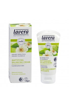 LAVERA, BALANCING MATTIFYING LOTION GREEN TEA & CALENDULA, FACES, 50ml