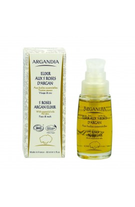 ARGANDIA, ELIXIR 5 ROSES FOR THE FACE ARGAN, 30 ml