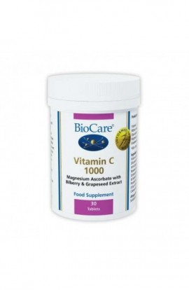 Biocare Vitamin C 1000 30 Tabletten (vegan)