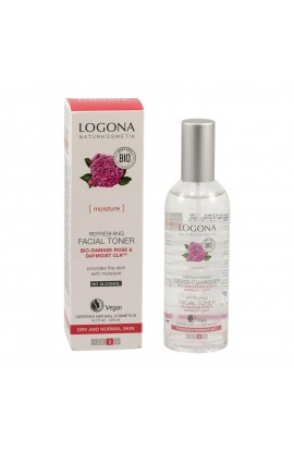 LOGONA, REFRESHING FACE TONIC, ORGANIC ROSE, 125 ML