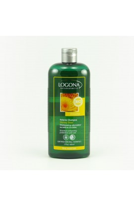 LOGONA, SHAMPOO TO ENHANCE VOLUME FOR BEER AND HONEY, 500 ML