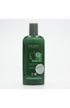 LOGONA, SHAMPOO CREAM FOR WEAK HAIR BAMBOO, 250 ML