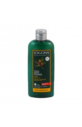 LOGONA, SHAMPOO FOR SHINE, ORGANIC ARGAN, 250 ML