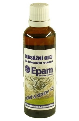 Epam, Epam massage oil 43 Spine and joints 50 ml