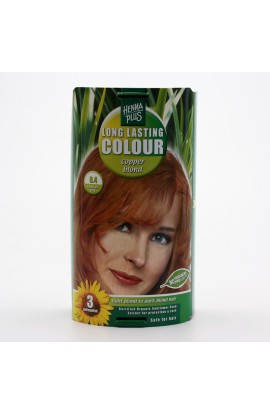 HENNA PLUS, LONG-LASTING COLOR COPPER BLONDE 8.4, 100 ML