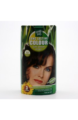 HENNA PLUS, LONG-LASTING COLOR LIGHT GOLDEN BROWN 5.3, 100 ML