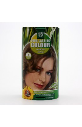 HENNA PLUS, LONG-LASTING COLOR RICH BLONDE 7, 100 ML
