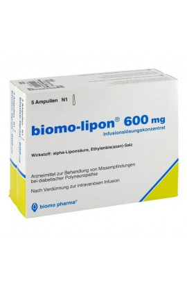 Biomo, Lipon 600 Mg Amp., Липон 600 мг Ампулы 10 шт.