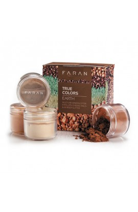FARAN, SET MINERAL DECORATIVE COLORS, TRUE COLORS EARTH, 13,5 ML