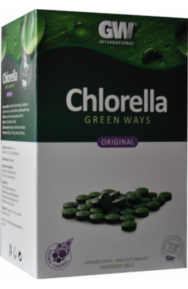 Green Ways Chlorella Pyrenoidosa 330 g 1320 tbl.