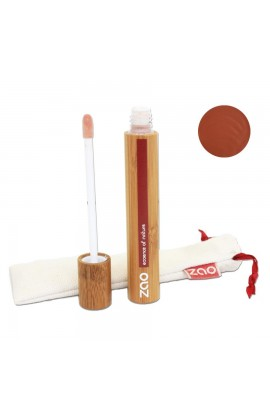 ZAO, LIP GLOSS 004 BROWN, 9 ML