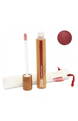 ZAO, LIP GLOSS 005 BURGUNDY, 9 ML