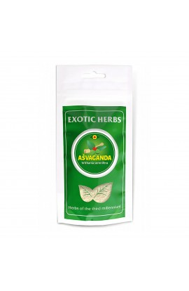 EXOTIC HERBS, AŠVAGANDA, POWDER, 100 G