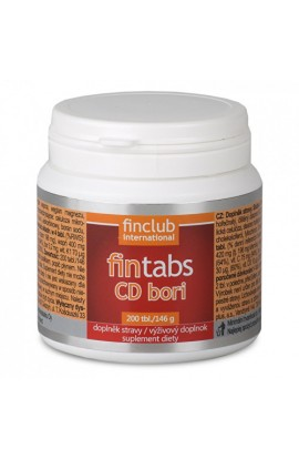 Finclub, Fintabs CD Bori 200 tbl.