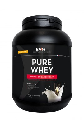 Eafit muscle building Pure whey 750 g, Vanilla Intense