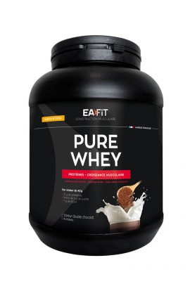 Eafit muscle building Pure whey 750 g, Double chocolate