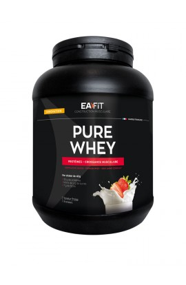 Eafit muscle building Pure whey 750 g, Strawberry