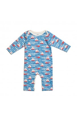 WINTER WATER FACTORY, INFANT OVERALLS WITH a LONG RUKÁVKEM 3M (sailboat), 1 PCS