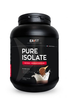 Eafit Pure Isolate 750 g, chocolate