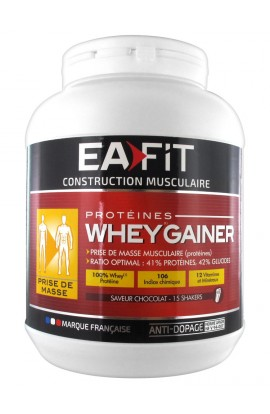 Eafit Muscle Building Whey Gainer 750 g, chocolate