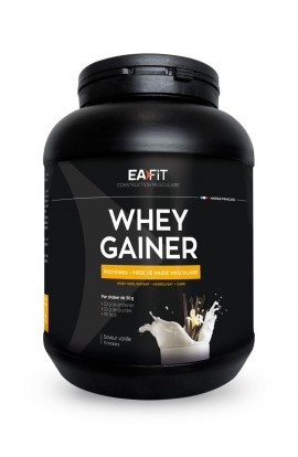 Eafit Muscle Building Whey Gainer 750 g, vanilla