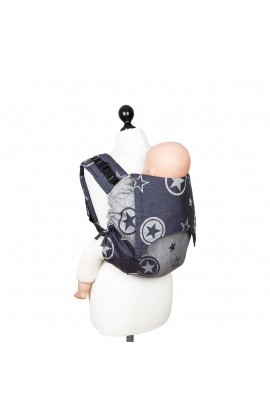 FIDELLA, Baby CARRIER ON your BACK ONBUHIMO, OUTER SPACE (Blue), 1 PCS