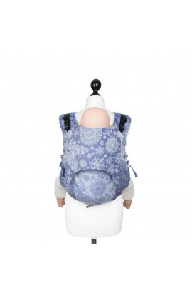 FIDELLA, BABY CARRIER ON YOUR BACK ONBUHIMO, ICED BUTTERFLY (Pearl-Blue), 1 PCS