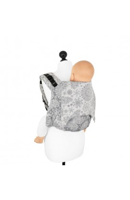 FIDELLA, BABY CARRIER ON YOUR BACK ONBUHIMO, ICED BUTTERFLY (Smoke), 1 PCS