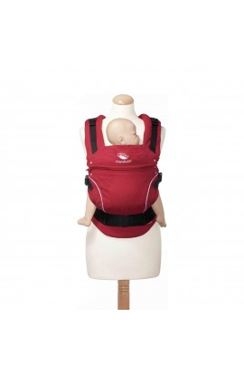 WICKELKINDER, Baby CARRIER MANDUCA, PURCOTTON (chilly red), 1 PCS