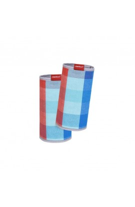 WICKELKINDER, MANDUCA FUMBEE PROTECTIVE COVERS (red-blue cube), 1 PCS