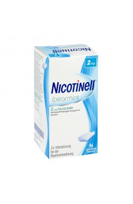 Nicotinell 2mg Spearmint (96 pcs)