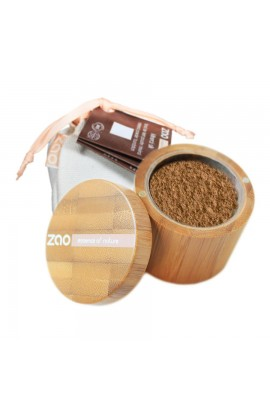 ZAO, SILK MINERAL MAKEUP 504 NEUTRAL BEIGE, 15 G