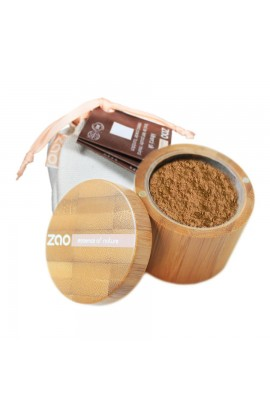 ZAO, SILK MINERAL MAKEUP 503 BEIGE ORANGE, 15 G