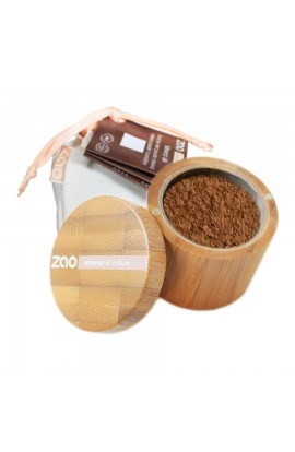ZAO, SILK MINERAL MAKEUP 505 COFFEE BEIGE, 15 G