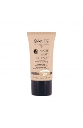 SANTE, THE MATT MAKE-UP 02, SAND, 30 ML