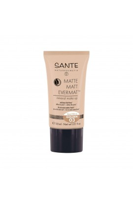 SANTE, THE MATT MAKE-UP 03, GOLD, 30 ML