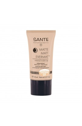 SANTE, THE MATT MAKE-UP 01, NATURAL, 30 ML