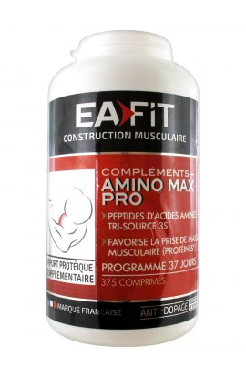 Eafit Muscle Building Amino Max Pro 375 Tablets