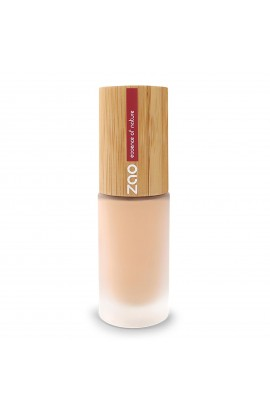 ZAO, SILK LIQUID MAKE-UP 714 NATURAL BEIGE, 30 ml