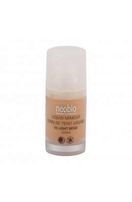 NEOBIO, LIQUID MAKE-UP 01 LIGHT BEIGE, 30 ml