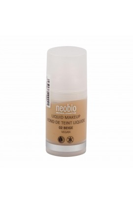NEOBIO, LIQUID MAKE-UP 02 BEIGE, 30 ml