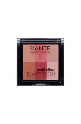 SANTE, BLUSH MULTI EFFECT BEAUTY 02, CRANBERRY, 8 G
