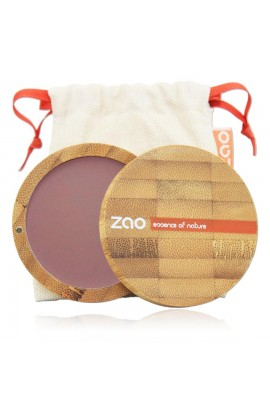 ZAO, BLUSH 323 DARK PURPLE, 9 G