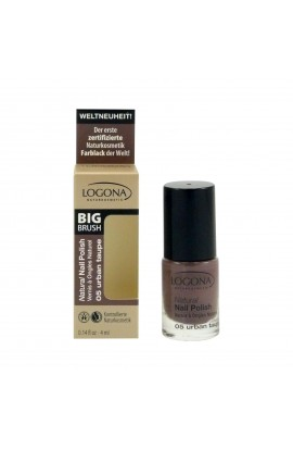 LOGONA, NAIL POLISH 05, URBAN TAUPE, 4 ML
