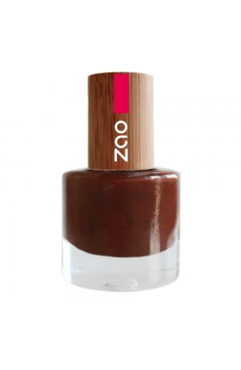 ZAO, NAIL POLISH 645 COCOA, 8 ML