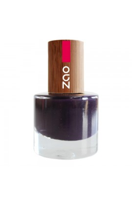 ZAO, NAIL POLISH 651 PLUM, 8 ML